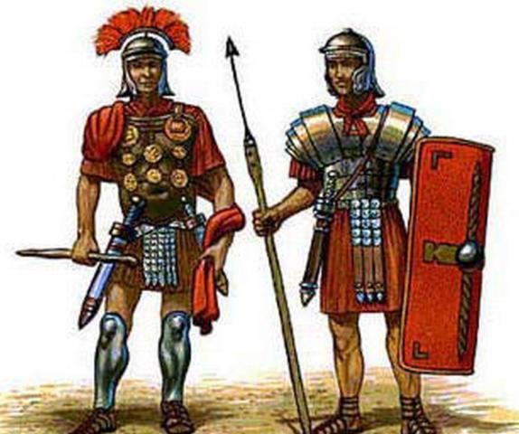 A Centurion & a Soldier