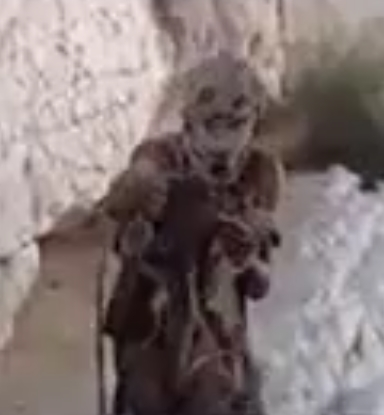A scary leper from the 1970 film